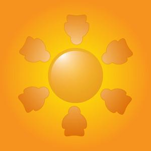 Nature Vector Sun
