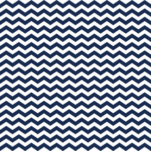 Nautical Pattern Of Blue And White Chevrons