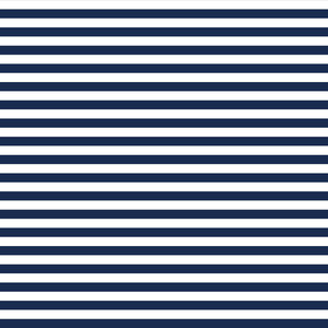 Nautical Pattern Of Blue And White Stripes