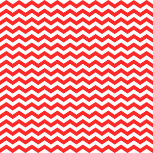 Nautical Pattern Of Red And White Chevrons