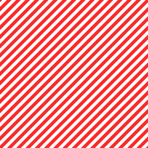 Nautical Pattern Of Red And White Diagonal Stripes