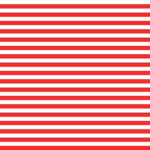 Nautical Pattern Of Red And White Stripes