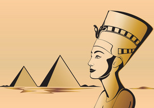 Nefertiti Egyptian Theme