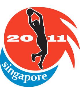 Netball Player Singapore 2011