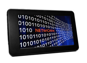 Network Concept On Pc Tablet