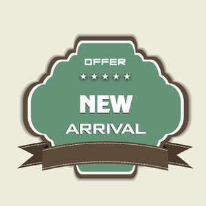 New Arrival Badge