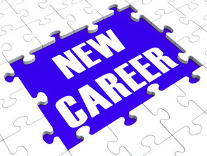 New Career Puzzle Showing Future Employment