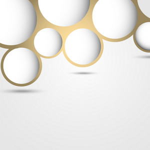 New Design Abstract Bubble Background