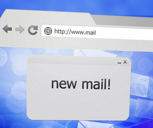 New Mail Pop-up Window In Web Browser