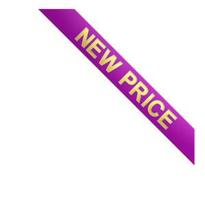 New Price Corner Label.