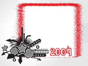 New Year 2009 Banner
