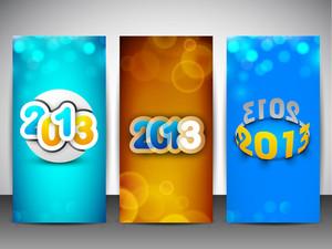 New Year Website Banner Set