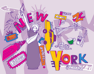 New York Doodles