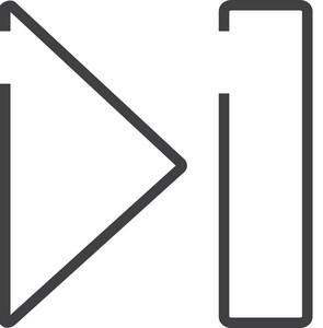 Next Minimal Icon