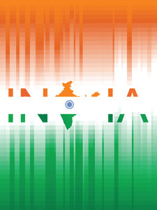 Nice Vector Illustration For India