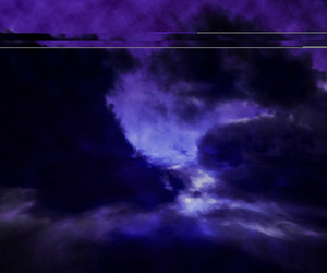 Night Sky Cloud Stage Background