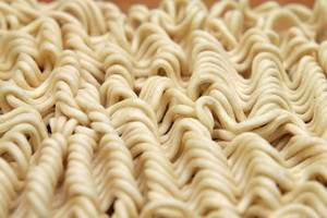 Noodles Close Up