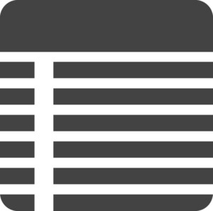 Note 2 Glyph Icon