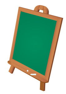 Notice Board. Vector.