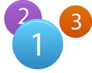 Numbered Circles