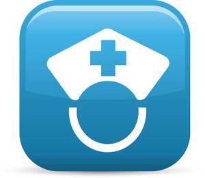 Nurse Elements Glossy Icon