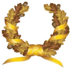 Oak Crest. Vector.