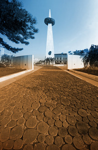 Obelisk In Bucharest