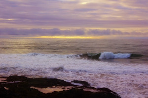 Ocean Sunset Scene