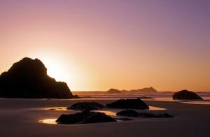 Puesta de Sol de Océano