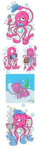 Octopus Vectors