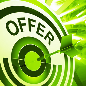 Offer Target Means Discounts Reductions Or Sales