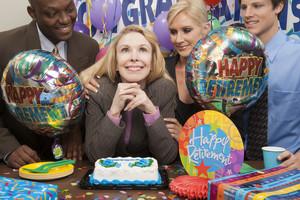 Office party celebration