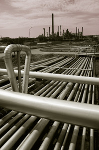 oil and gas pipelines and refinery