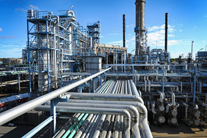 oil and gas refinery pipelines