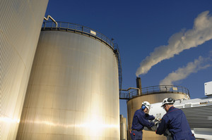 oil, gas and fuel installation, storage tanks