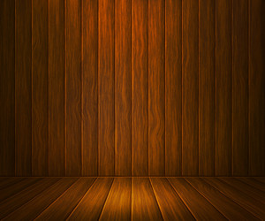 Oke Wooden Room Background