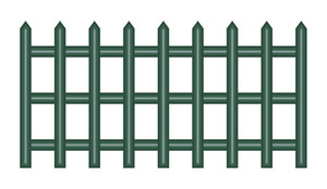 Old Fence Vector