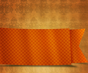 Old Orange Vintage Exclusive Background