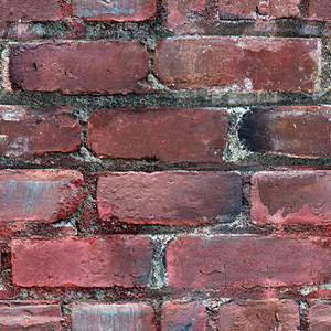 Old Red Bricks Seamless Texture