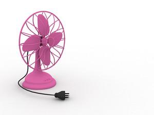 Old Retro Table Fan