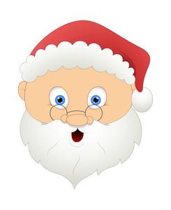 Old Santa Face