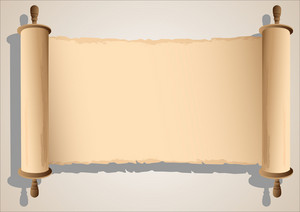 Old Scroll Banner