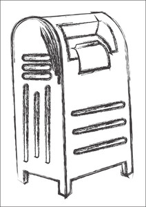 Old Style Letterbox Sketching