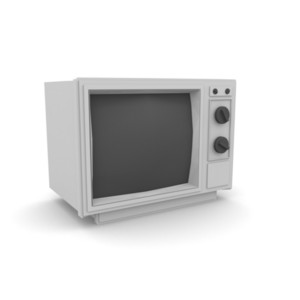 Old Style Retro Television
