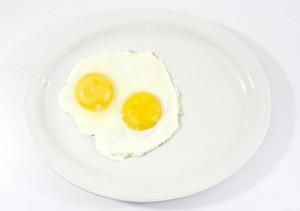 Omelette In Plate