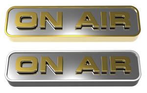 """on Air"" Sign."