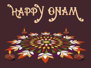 Onam Background For Celebration