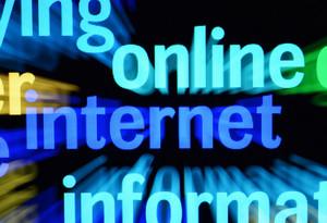 Online Internet Word Cloud