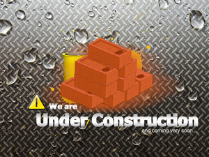 Online Web Under Construction