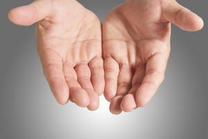 Open Blank Hand